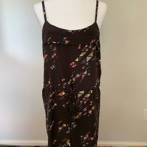 Dolce Vita cinched silk mini dress